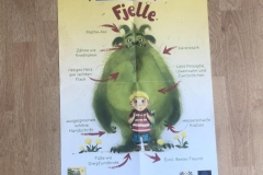 Das Plaket zu Fjelle & Emili