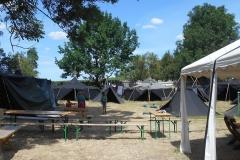 Die Zeltlandschaft