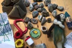 Runensteine und andere Dinge