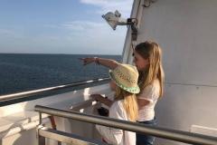 Anreise auf der Fähre Norderaue